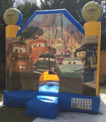 Chateau gonflable cars Votre Partenaire Festif