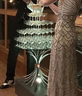 Cascade de champagne Votre Partenaire Festif