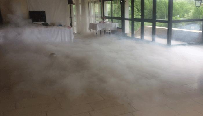 Fumée lourde Votre Partenaire Festif
